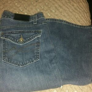 DKNY boot cut jeans